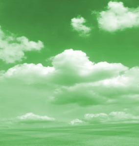 green-clouds