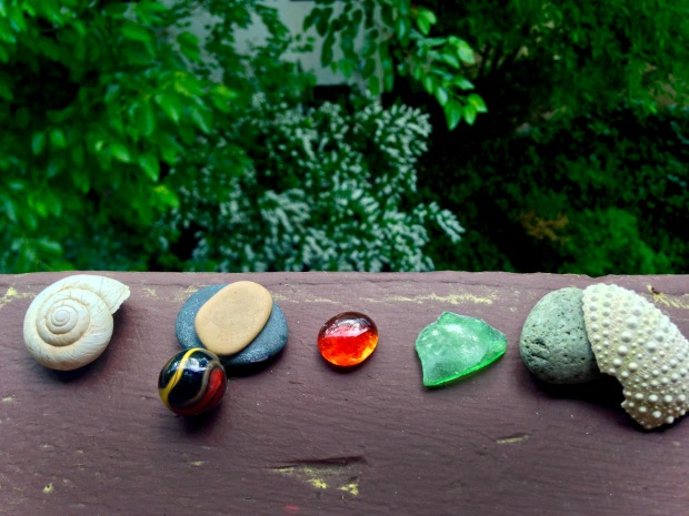 stones and shells
