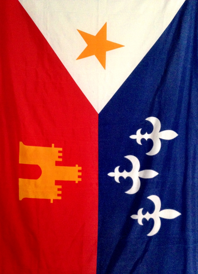 photo of Arcadian flag