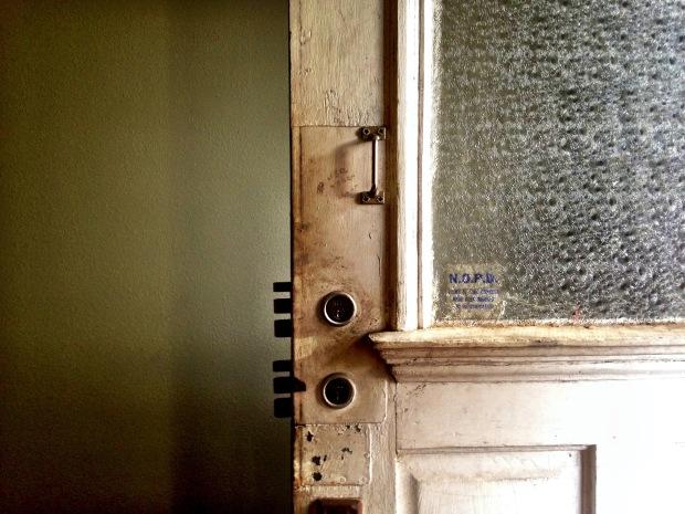 door with many locks